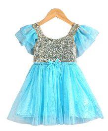 Tiny Closet Sequined Dress - Blue