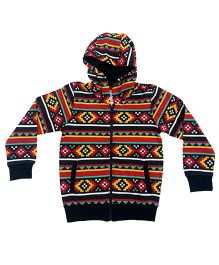 Kuddle Kids Colourful Hoodie - Multicolor