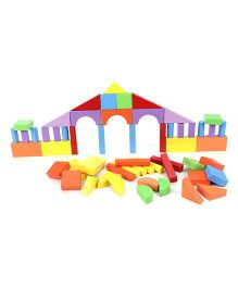 Anindita Toys Building Blocks - 56 Pieces