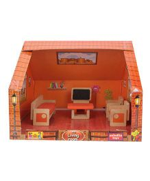 Anindita Toys DIY Miniature Living Room