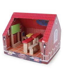 Anindita Toys  DIY School Set - Multi Color