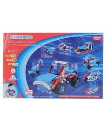 Enginero Metal Construction Set Level 2 - 152 Pieces