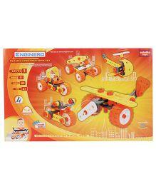 Enginero Plastic Construction Set Level 1 - 63 Pieces