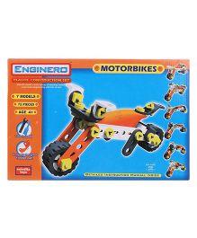 Enginero Plastic Bike Construction Set - 72 Pieces