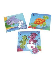 Anindita Toys Fun With Puzzles - Aquatic Life