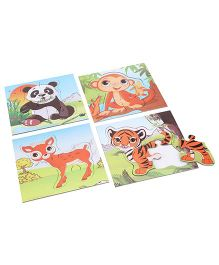 Anindita Toys Fun With Puzzles - Baby Animals II