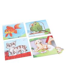 Anindita Toys Fun With Puzzles - Pet Animals