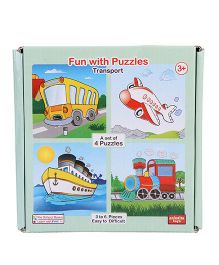 Anindita Toys Fun With Puzzles - Transport