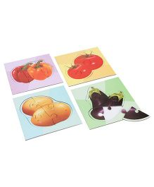 Anindita Toys Fun With Puzzles - Vegetable