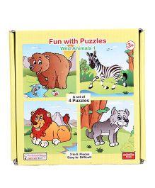 Anindita Fun With Puzzles Wild Animals I