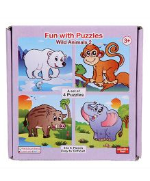 Anindita Fun With Puzzles - Wild Animals II