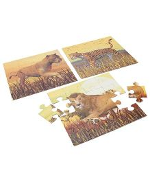 Anindita Toys Learn With Puzzles - Wild Cat