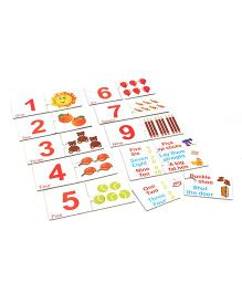 Anindita Toys Link And Learn Numbers Puzzle Multicolor - 24 Pieces