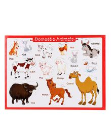 Anindita Tray Puzzle Domestic Animals - 13 Pieces