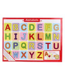 Anindita Toys Tray Puzzle - Alphabets