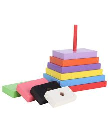 Anindita Toys Stacking Rectangles Towers - 9 Pieces