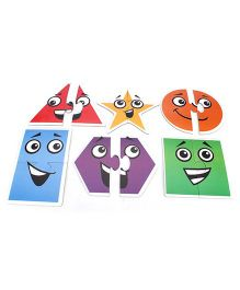 Anindita Toys Toddler Shapes Puzzle - Set of 6