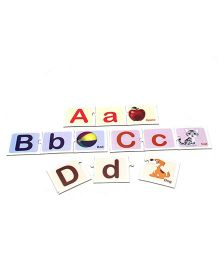 Anindita Toys Link And Learn Alphabets - 3 Pieces