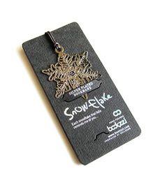 EZ Life Snowflake Bookmark - Silver