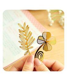EZ Life Clover Bookmark - Gold