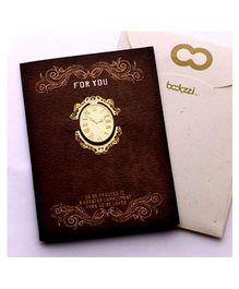 EZ Life Clock Bookmark - Gold