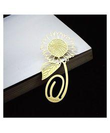 EZ Life Sunflower Bookmark - Gold