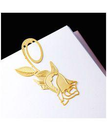 EZ Life Rose Bookmark - Gold