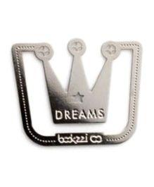EZ Life Dreams Crown Bookmark - Silver