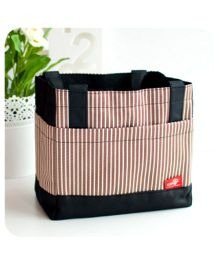 EZ Life Thermal Lunch Box Bag - Brown