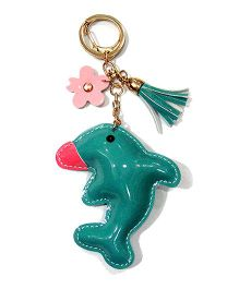 EZ Life Cute Dolphin Shape Keychain - Sea Green