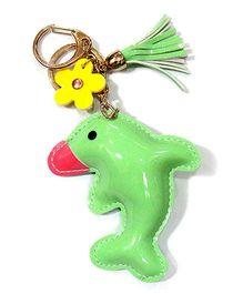 EZ Life Cute Dolphin Shape Keychain - Aqua Green