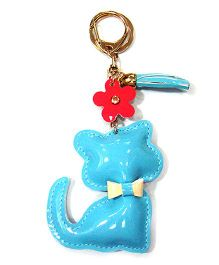 EZ Life Cute Kitty Shape Keychain - Blue