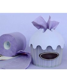 EZ Life Cup Cake Tissue Box - Purple