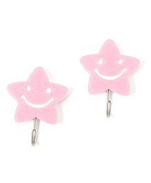 EZ Life Pack Of 2 Shining Star Glitter Hook - Pink
