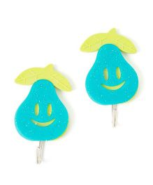 EZ Life Pack Of 2 Pally Pear Glitter Hook - Blue