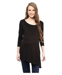 Mamacouture Maternity Top Black - Small
