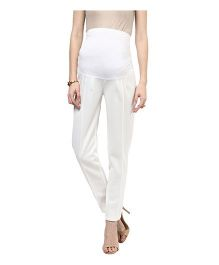 Mamacouture Must Have Maternity Pants - Ecru