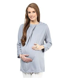 Mamacouture Maternity Top - Grey