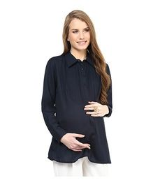 Mamacouture Must Have Maternity Shirt - Navy Blue