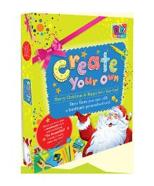 Create Your Own Merry Christmas And Happy New Year Card
