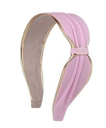 Cutecumber Party Wear Hair Band - Light Pink