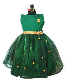 Many Frocks & Princess Party Dress - Green