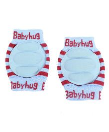 Babyhug Knee Protection Pads - Blue & Red