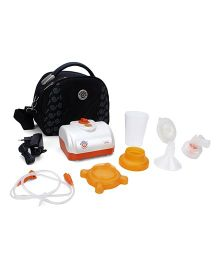 Mebby Gentlefeed Mono Electric Breast Pump - Orange And White