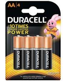 Duracell Alkaline AA Batteries - Pack Of 4