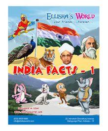 Ellisha's World Educational Comic Book India Facts 1 - English