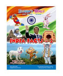 Ellisha's World Educational Comic Book India Facts 2 - English