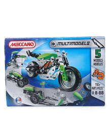 Meccano 5 Model Set - Green