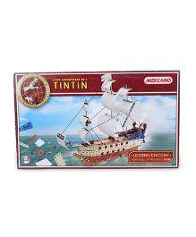 Meccano Adventures Of Tintin Unicorn Ship Construction Set