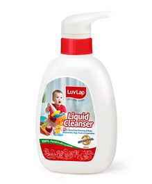 LuvLap Liquid Cleanser For Feeding Bottles 500 ml - 18179